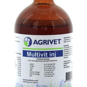 MULTIVIT INJECT AGRIVET 100ML.REGNL.8010