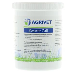 ZWARTE ZALF AGRIVET 1000G. REG NL.2304